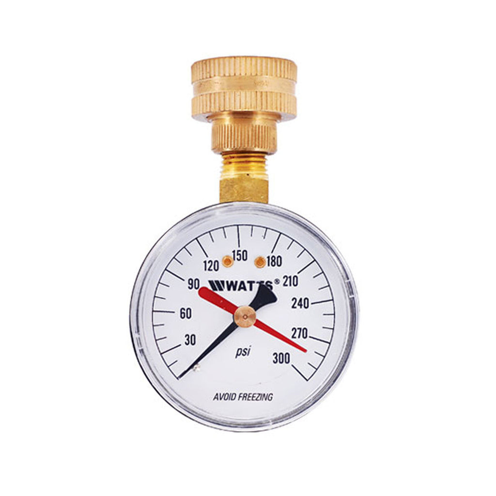 Home Water Pressure Tester