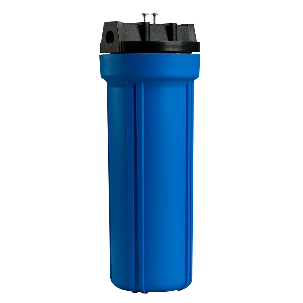 Filter Housing and Lid (Blue)