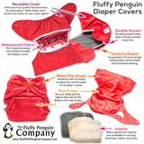 "Fluffy Penguin Cover ""Campers"""