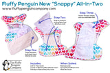 "Fluffy Penguin Snappy Ai2 ""Campers"""