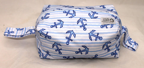 "Diaper Pod ""Anchor Stripes"""
