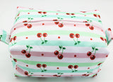 "Diaper Pod ""Cherry Stripes"""