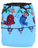 "Fluffy Penguin All in One ""Patriotic Birds"""