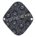 "YiFashion Cloth Pad 10 Inch Charcoal ""Black Lace"""