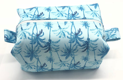 "Diaper Pod ""Blue Palms"""