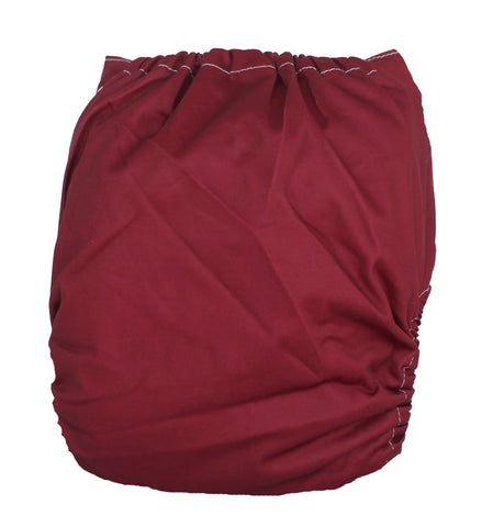 "Fluffy Penguin Basic Pocket ""Burgundy"""