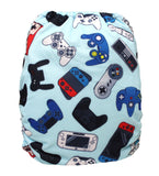 "Fluffy Penguin Cover ""Game Controllers"""