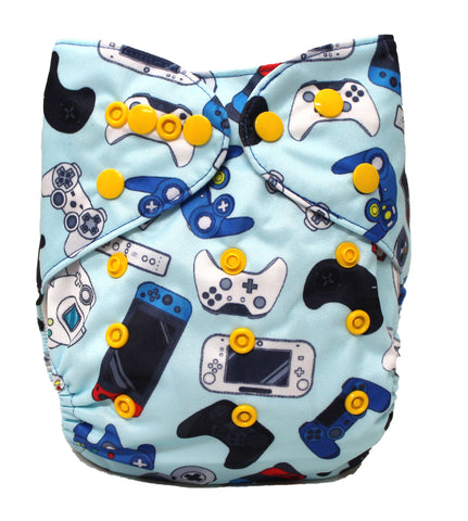 "Fluffy Penguin Pocket ""Game Controllers"""