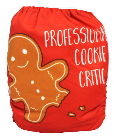"Fluffy Penguin Pocket ""Cookie Critic"""