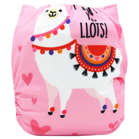 "YiFashion Pocket  ""Llama Love"""
