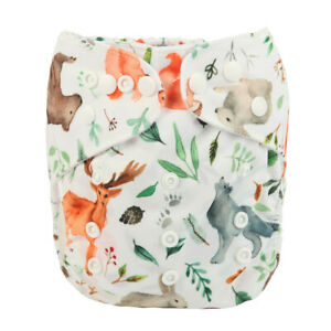 "Sigzagor Pocket ""Watercolor Forest Creatures"""