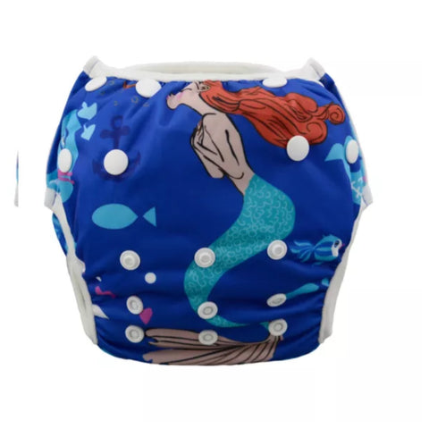 "Alva Swim Diaper ""Deep Sea Mermaid"""