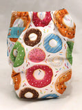 "Alva Newborn Charcoal All In One ""Donut Sprinkles"""