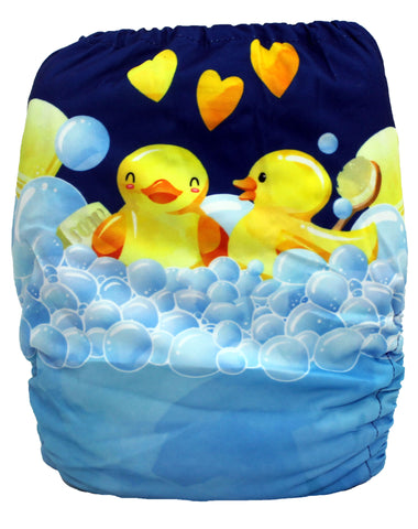"Fluffy Penguin Cover ""Rubber Ducky"""