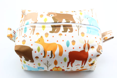 "Diaper Pod ""Bear And Fox Forest"""