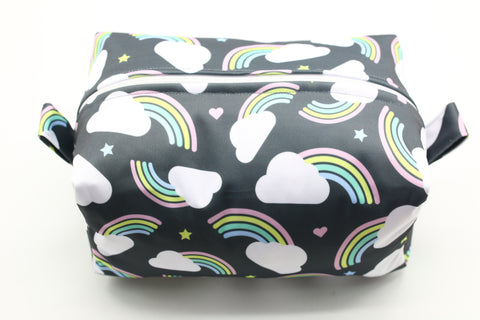 "Diaper Pod ""Pastel Rainbows"""