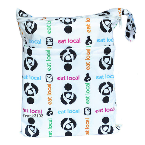 "Travel Wetbag - ""Eat Local"""
