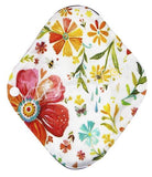 "YiFashion Cloth Pad 12 Inch Charcoal ""Fall Floral"""