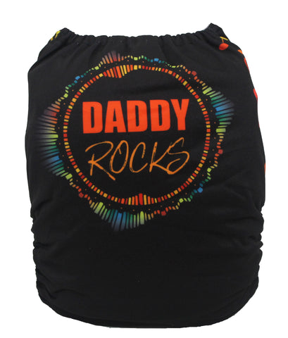 "Fluffy Penguin Cover ""Daddy Rocks"""