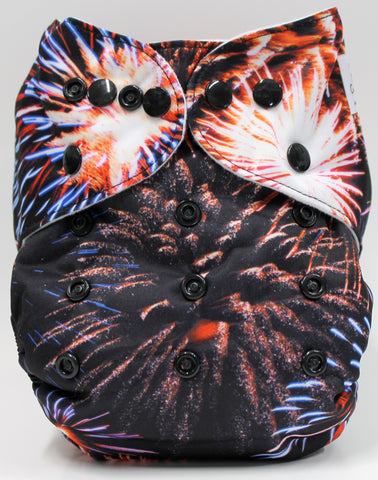 "Fluffy Penguin Pocket ""Fireworks"""