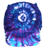 "Fluffy Penguin Cover ""Purple Tie-dye"""