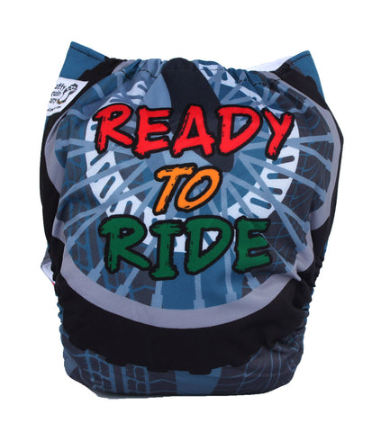 "Fluffy Penguin Cover ""Ready to Ride"""