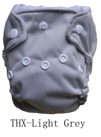 "THX Newborn Charcoal All-In-One ""Grey"""
