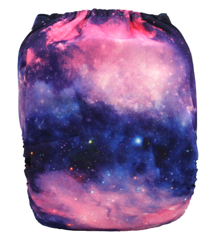 "Fluffy Penguin Pocket ""Galaxy"""