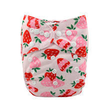 "Alva Pocket ""Strawberries"""