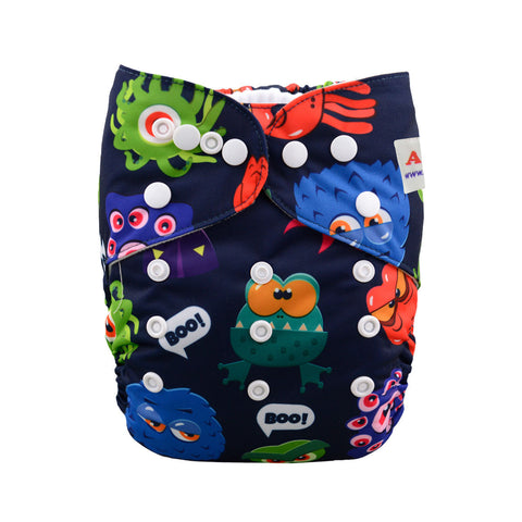 "Alva Pocket ""Boo Monsters"""