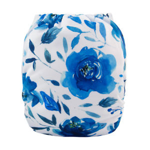 "Alva Pocket  ""Blue Roses"""