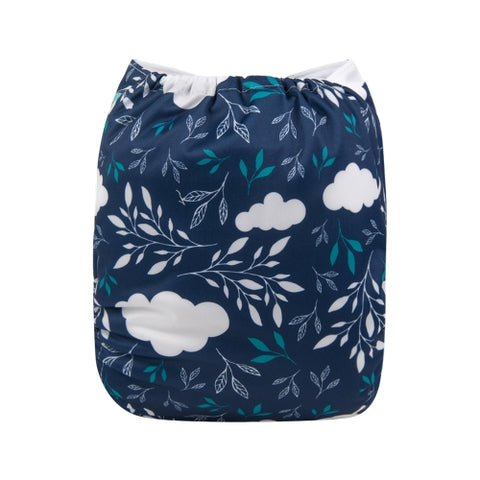 "Alva Pocket  ""Clouds and Leaves"""