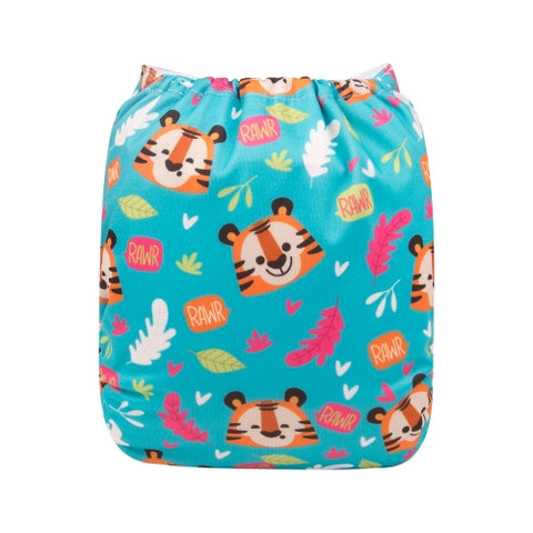 "Alva Pocket  ""Cute Tiger Faces"""