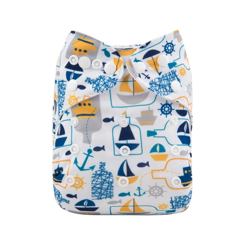 "Alva Pocket ""Boats in Bottles"""