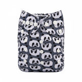 "Alva Pocket ""Panda Faces"""