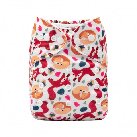 "Alva Pocket ""Snoozing Foxes"""