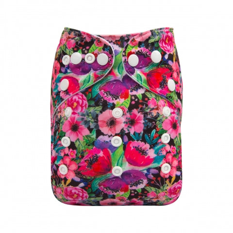 "Alva Pocket ""Vibrant Flowers"""