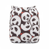 "Alva Pocket ""Panda Smiles"""