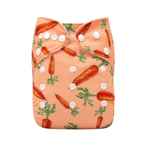 "Alva Pocket ""Orange Carrots"""