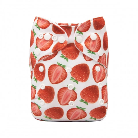 "Alva Pocket ""Strawberry Halves"""