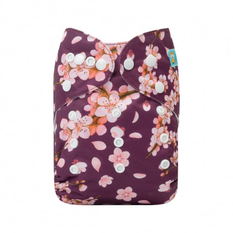 "Alva Pocket ""Mulberry Floral"""