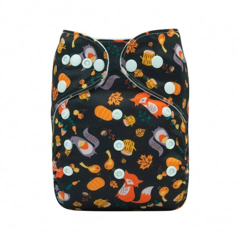"Alva Pocket ""Squirrels and Foxes"""