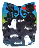 "Fluffy Penguin Pocket ""Halloween Cats"""