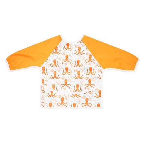 "Long Sleeve Full Bibs - ""Octopus"""