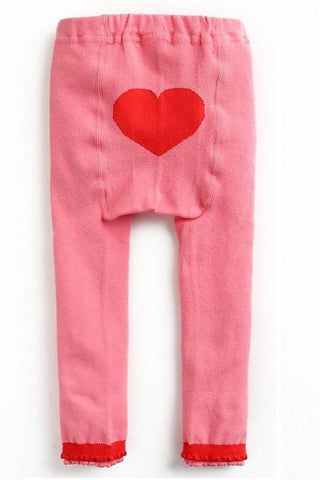 "Eva & Elvin Pants ""Pink Heart"""