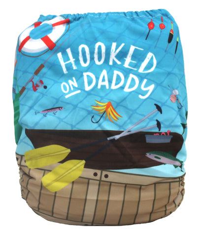 "Fluffy Penguin Pocket ""Hooked On Daddy"""
