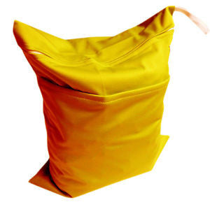 "Alva Travel Wetbag - ""Golden Yellow"""