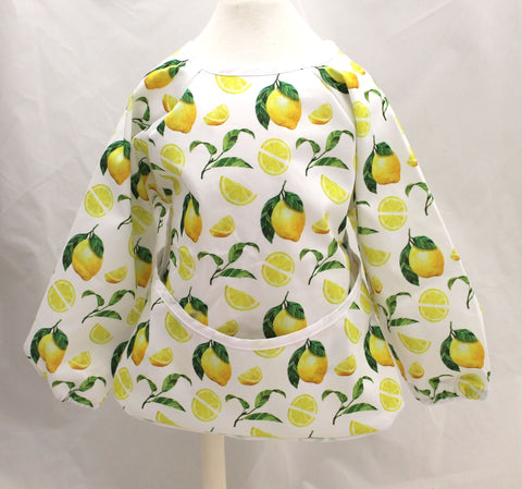 "Long Sleeve Full Bibs - ""Lemons"""