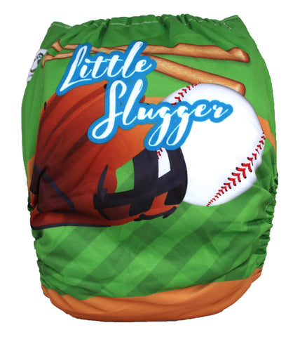 "Fluffy Penguin Cover ""Little Slugger"""