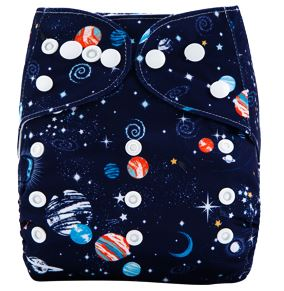 "AnAnBaby Pocket ""Planets and Stars"""